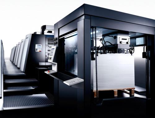 IDC Imprimerie renouvelle une machine Offset